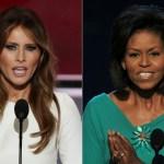 Mulher de Trump é acusada de plagiar discurso de Michelle Obama de 2008