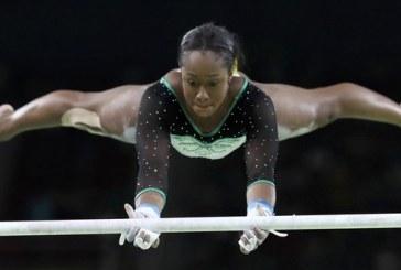 Com pose inspirada em Bolt, jovem é  a 1ª jamaicana da ginástica em Jogos