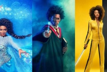 Projeto Identidade clica artistas negros em papéis de ícones pop