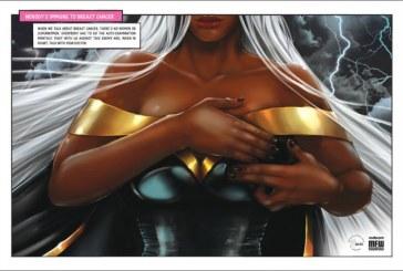 Outubro Rosa: Super-heroínas ensinam autoexame para prevenir câncer de mama