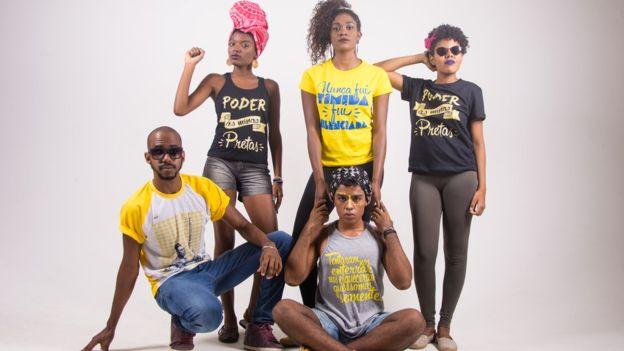 Na loja virtual batizada com o nome de cidade de Gana, apenas negros podem vender e ser modelos para os produtos