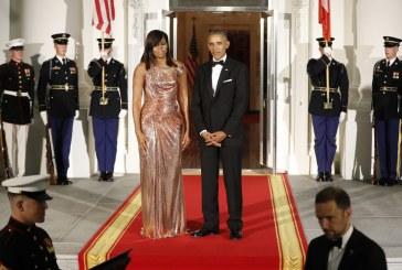 Vestido de Michelle Obama escondia uma mensagem