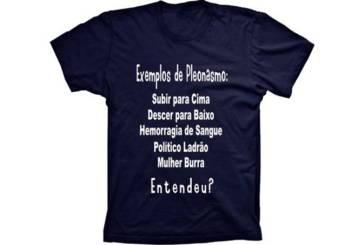 """Dafiti coloca à venda uma camiseta que cita """"mulher burra"""" como exemplo de pleonasmo"""