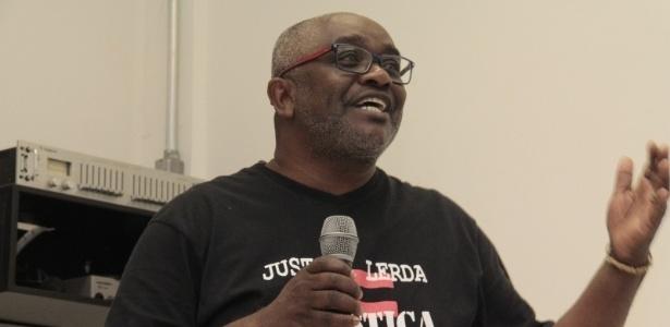 O jornalista fala em evento sobre as ofensas recebidas na Unesp