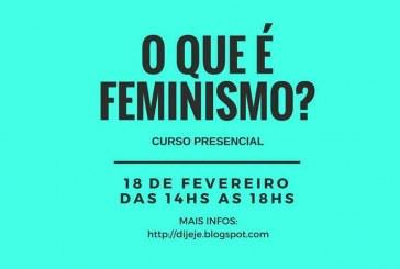 Curso apresenta os princípios do feminismo