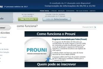 MEC anuncia resultado do Prouni, mas candidatos não conseguem consultá-lo