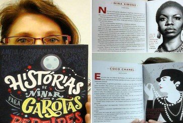 Livro 'Histórias de Ninar para Garotas Rebeldes' conta a trajetória de 100 mulheres extraordinárias
