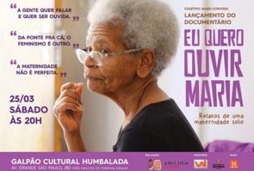 """""""Eu quero ouvir Maria!"""" no próximo sábado, no Galpão Cultural Humbalada"""