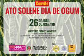 Deputada Leci Brandão homenageia lideranças religiosas no Dia de Ogum