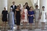 Marido de primeiro-ministro é incluído em foto de primeiras-damas