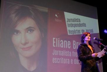 """Eliane Brum e """"AzMina"""" apontam barreiras que ainda persistem nas redações"""