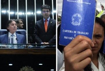 Senadores aprovam reforma trabalhista e matam a CLT