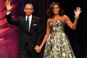 Casal Obama esbanja charme durante a festa de posse