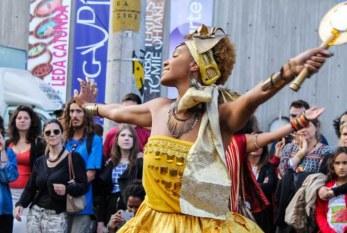 Karol Conka e Ellen Oléria de graça no Festival de Arte Negra