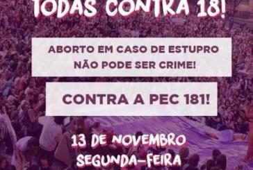 #TODAS CONTRA 18 – Frente Nacional Contra a Criminalização das Mulheres pela Legalização do Aborto do RJ emite nota à imprensa