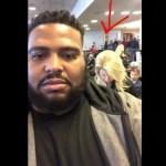Emmit Walker, um homem negro, questionado por estar na fila da 1ª classe. Ele respondeu!