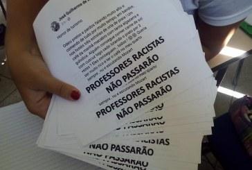 Manifestação no IFSP pede demissão do professor que proferiu declarações racistas