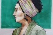 Mulheres homenageiam Marielle Franco com ilustrações políticas