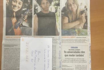 Depois de dar entrevista para jornal, jovem negro recebe ataque racista por carta