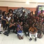 Estudantes  da UNILAb assistem filme Pantera Negra como atividade em Salvador