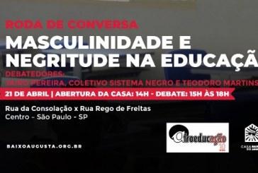 AfroeducAÇÃO promove atividade sobre os desafios dos homens negros na educação brasileira