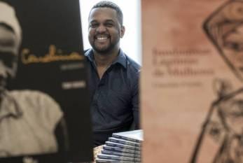 Os negros como protagonistas na literatura num país de maioria negra