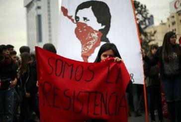 O feminismo toma o Chile