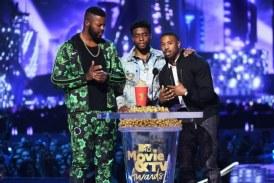 """""""Pantera Negra"""" venceu quatro prêmios no MTV Movie & TV Awards"""