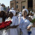 Lavagem marca um ano do Cais do Valongo como Patrimônio da Humanidade