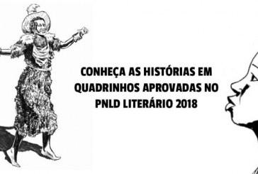 Cumbe, Angola Janga e Carolina são aprovado no Plano Nacional do Livro Didático Literário 2018