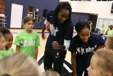 NBA lança campanha para incentivar meninas de 7 a 14 anos a seguirem no basquete