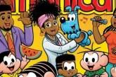 Tem família preta na capa da revista Turma da Mônica