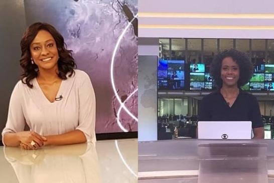 Joyce Ribeiro parabeniza Maju Coutinho após estreia no Jornal Nacional: