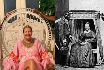 A cadeira da foto da socialite-sinhá, segundo um antropólogo