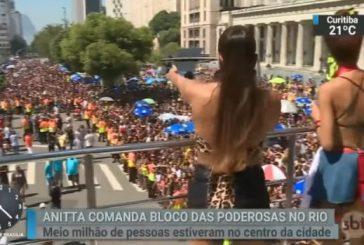 """Anitta acusa jovem de """"ladrãozinho"""" em show, PM o prende e descobre na delegacia que ele era inocente"""