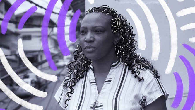 Eliane Dias é reconhecida pela trajetória profissional e pela militância contra preconceito, abuso e feminicídio Foto: Arte da Lari Arantes sobre foto de Edílson Dantas
