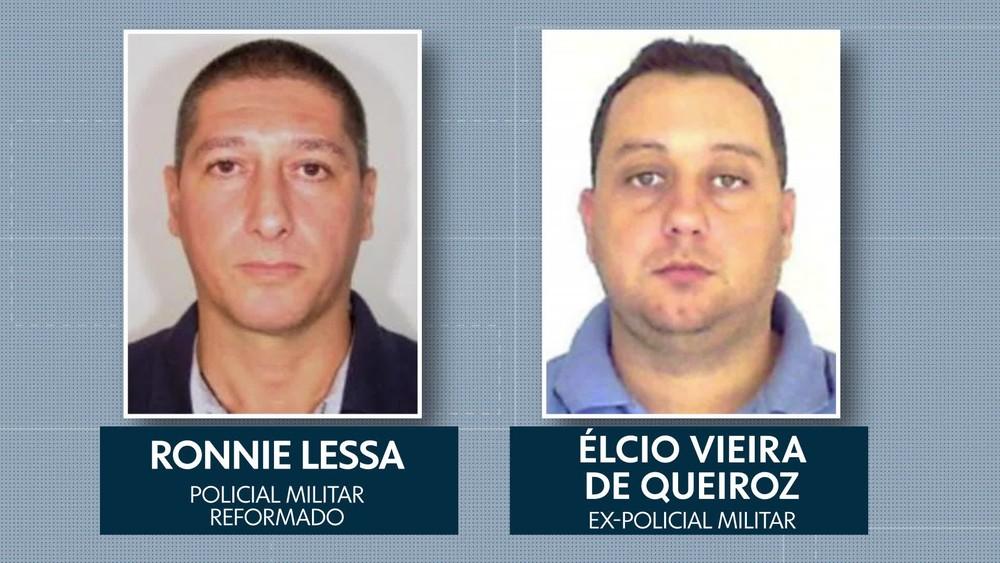 Resultado de imagem para ex pm e militar reformado suspeitos de morte de marielle e anderson sao presos