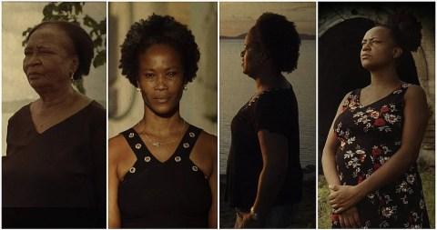 Vanderlice Reis, Edvana Carvalho, Cassileide Bonfim, Miriã Santos e Tâmara Duarte, todas mulheres negras com idades variadas.