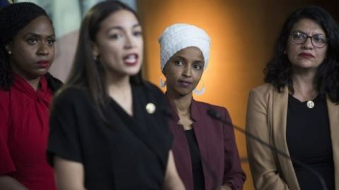 As quatro jovens congressistas