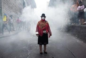 A história por trás da foto mais emblemática dos protestos no Equador