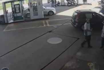 Preso em flagrante por morte em posto de gasolina, jovem é solto após imagens provarem sua inocência
