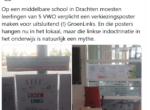Pure indoctrinatie: leerlingen moeten verplicht GroenLinks-verkiezingsposter maken