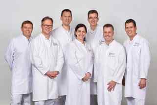 Das Praxis-Team im Gelenkzentrum Bergisch Land in 42853 Remscheid, Freiheitstraße 203 – Orthopädische Diagnose, konservative und operative Therapie - alles aus einer Hand!