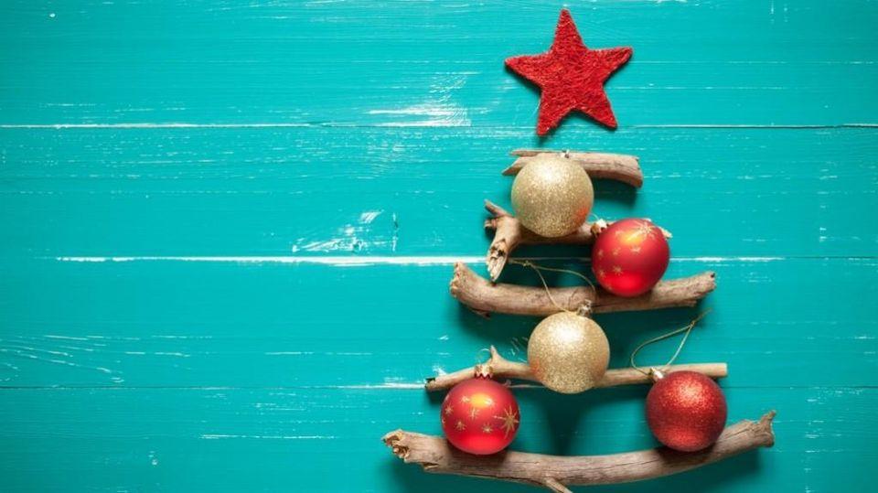 Disegni e immagini di natale facili da scaricare dal sito, stampare e colorare. Albero Di Natale Alternativo Per Bambini La Stampa
