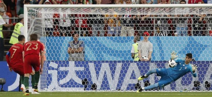 Ronaldo sbaglia un rigore con l'Iran | Numerosette Magazine