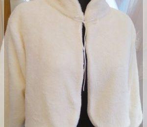 Gelin Ceketi Gelin Peluş Kürkü çift taraflı kullanılabilir peluş polar kumaştan özel dikim yapılmıştır.