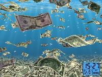 Money Screensavers and Euro, Dollar Screen Savers