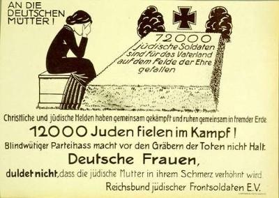 12000 jüdische Frontkämpfer gaben alles für uns