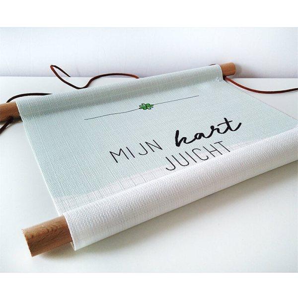 textielposter-valentijnscadeau-mijnhartjuicht