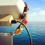Yarnbombing: Englische Schiffe einhäkeln!